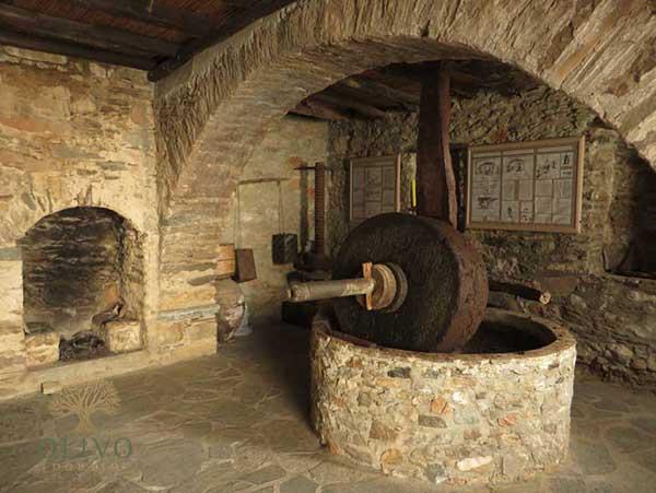 Traditionelle Öl Mühle