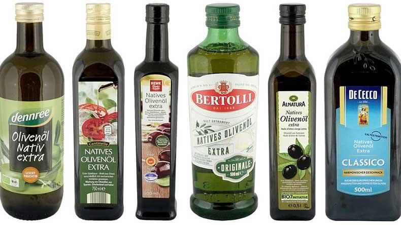 im Olivenöl test schneiden viele bekannte marken eher schlecht ab