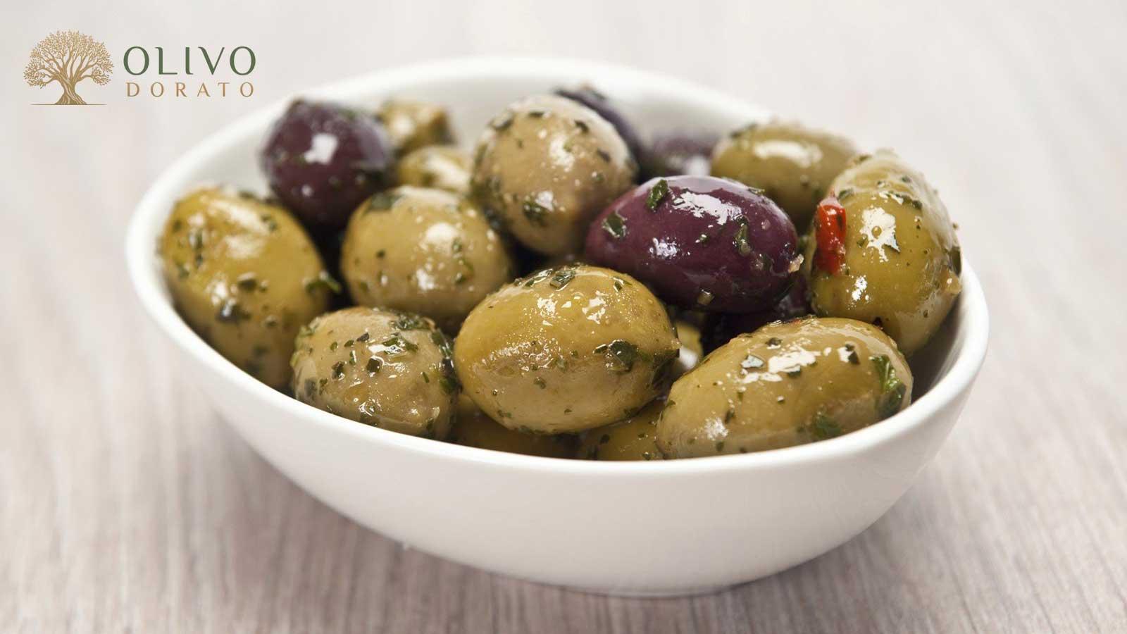 Oliven einlegen