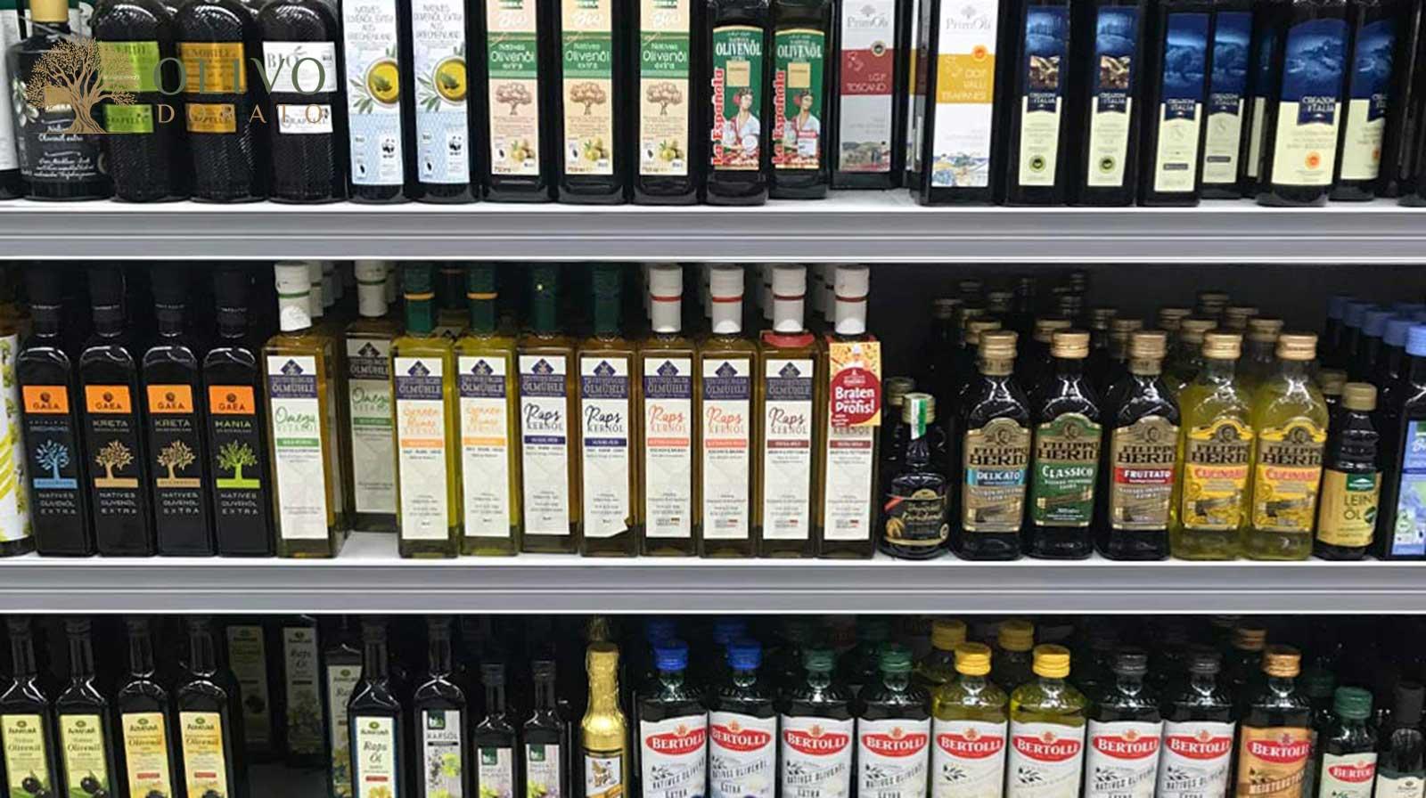 falsches Olivenöl im Supermarkt