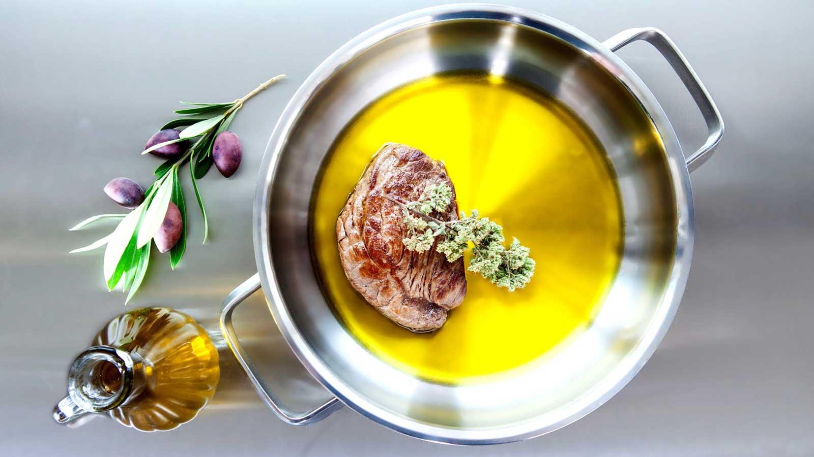 Olivenöl als gutes fett nutzen